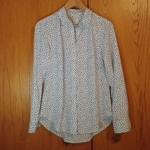 Heart Print Blouse by A New Day